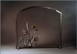 Lily Fire Screen
